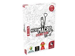 Pegasus MicroMacro Crime City Edition Spielwiese 59060G Spiel des Jahres 2021