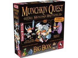Pegasus Munchkin Quest Big Box 51953G Funspiel