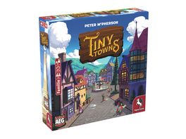 Pegasus Tiny Towns deutsche Ausgabe 51226G Familienspiel
