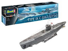 Revell 05166 German Submarine Type IXC U67 U154