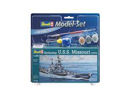 Revell 65128 Model Set Battleship U S S Missouri WWII