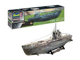 Revell 05163 German Submarine Type VII C 41