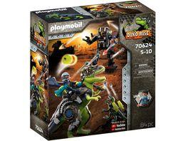 PLAYMOBIL 70624 DINO RISE T Rex Gefecht der Giganten