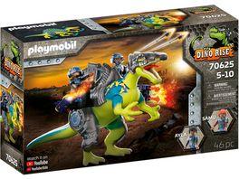 PLAYMOBIL 70625 DINO RISE Spinosaurus Doppelte Verteidigungs Power