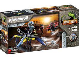 PLAYMOBIL 70628 DINO RISE Pteranodon Attacke aus der Luft