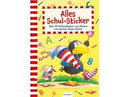 Der kleine Rabe Socke Alles Schul Sticker