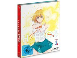 SUPER HxEROS Vol 1 Blu ray DVD Uncut Limited Edition