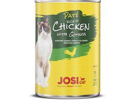 JosiCat Pate reich an Huhn mit Quinoa