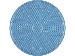Hama Buegelperlen midi5 Stiftplatte transparent gr Kreis