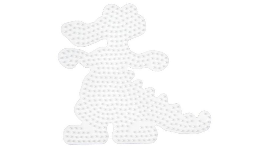 Hama Bügelperlen midi5+ Stiftplatte Krokodil