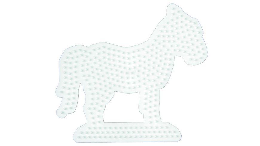 Hama Bügelperlen midi5+ Stiftplatte Pferd