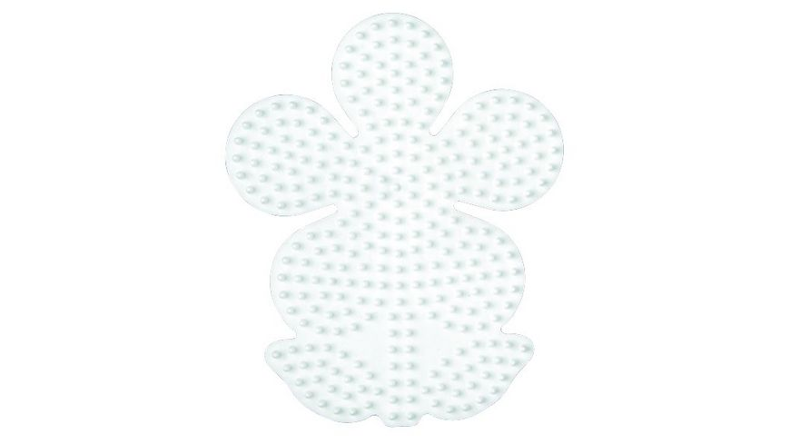Hama Bügelperlen midi5+ Stiftplatte Blume