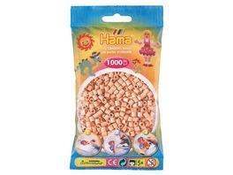 Hama Buegelperlen midi5 Beutel mit Perlen Hautfarbe 1 000Stueck