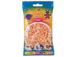 Hama Buegelperlen midi5 Beutel mit Perlen Leuchtrot 1 000Stueck