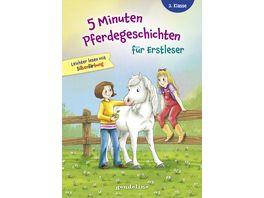 5 Minuten Pferdegeschichten fuer Erstleser 2 Klasse Leichter lesen mit Silbenfaerbung