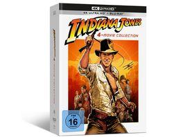 Indiana Jones 1 4 4K UHD Digipack Collection Exklusiv