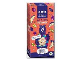 3Bears Porridge Wild Kids Fruchtfeierei