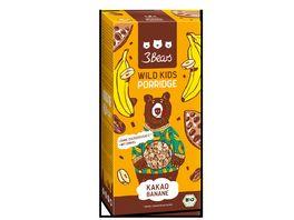 3Bears Porridge Wild Kids Kakao Banane