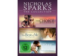 Nicholas Sparks The Collection 3 DVDs