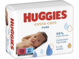 Huggies Baby Feuchttuecher Extra Care Pure