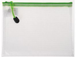 Reissverschlussbeutel Utensilientasche A5 farbig sortiert