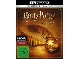 Harry Potter The Complete Collection 8 4K Ultra HDs 8 Blu rays 2D