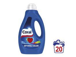 Coral Fluessigwaschmittel Optimal Color 20 WL