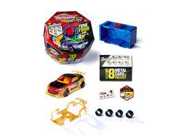 Majorette Tune Ups Series 1 Spielzeugauto aus Metall zum Tunen mit 7 Ueberraschungen 1 von 18 Autos inkl Tuning Zubehoer Sammelbox und Sticker