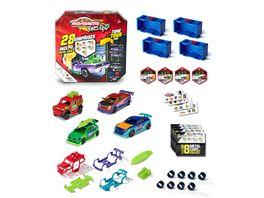 Majorette Tune Ups Series 1 4er Set mit 28 Ueberraschungen Spielzeugautos aus Metall zum Tunen 4 von 18 Autos inkl Tuning Zubehoer Sammelboxen und Stickern