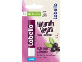 LABELLO Naturally Vegan Acai Beere Sheabutter COSMOS Nat 5 2ml