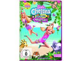 Barbie Chelsea Dschungel Abenteuer Die DVD zum Film Limited Edition im hochwertigen Glitzerschuber