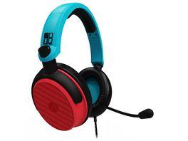 Multiformat Stereo Gaming Headset C6 100 rot blau