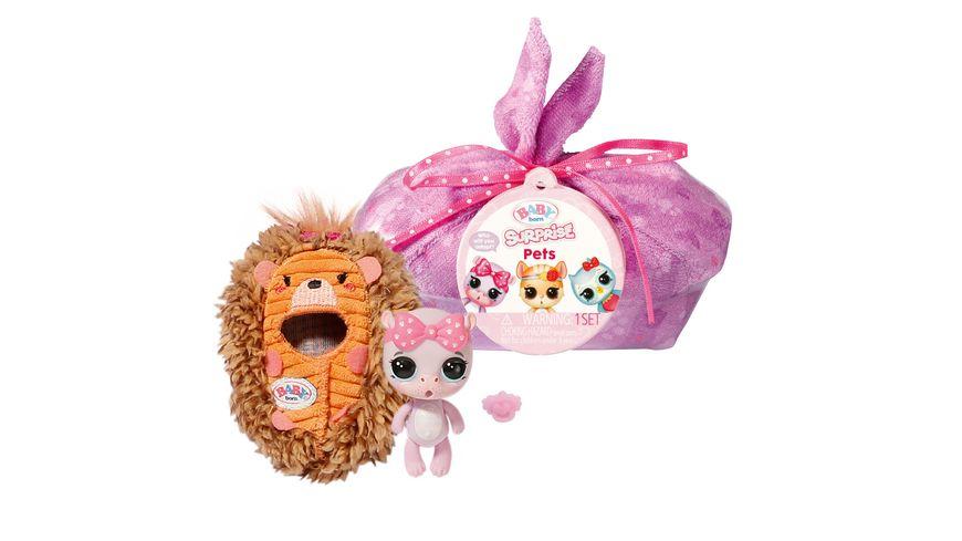 Zapf Creation - BABY born Surprise Pets 3