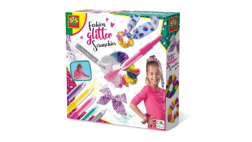 SES Creative - Fashion glitter Scrunchies