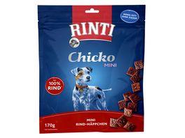 RINTI Hundesnack Chicko Mini Rind