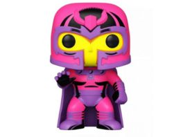 Funko POP Marvel Blacklight Magneto Bobble Head Figur