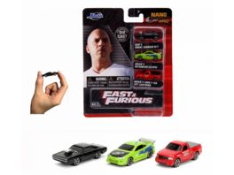 Jada Fast Furious 3 Pack Nanofiguren 253201000