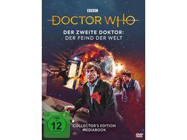 Doctor Who Der Zweite Doktor Der Feind der Welt Mediabook Edition LTD 2 DVDs