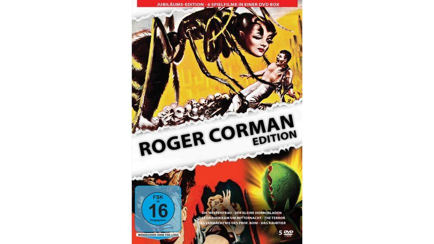 Roger Corman Edition - 6 Spielfilme auf 5 DVDs