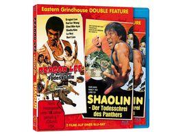 Shaolin Der Todesschrei des Panthers Bruce Lee Im Auftrag der Todeskralle Eastern Grindhouse Double Feature Vol 1 Limitiert auf 1000 Stueck