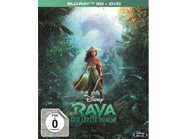 Raya und der letzte Drache Deluxe Set DVD 7 Sammelkarten