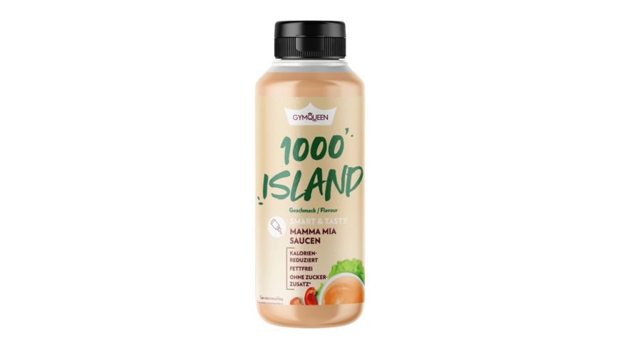 GYMQUEEN Mamma Mia Zero Sauce 1000 Island