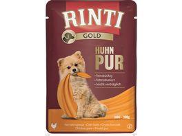 RINTI Hundenassfutter Gold Huhn Pur