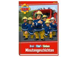 Feuerwehrmann Sam Drei Fuenf Sieben Minutengeschichten Geschichtenbuch