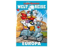 Lustiges Taschenbuch Weltreise 01 Europa