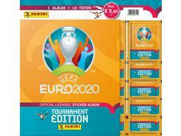 Panini UEFA EURO 2020 TOURNAMENT EDITION Sticker Album