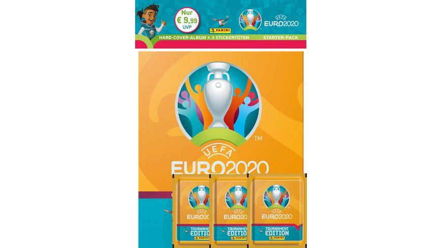 Panini UEFA EURO 2020 TOURNAMENT EDITION - Hard-Cover-Stickeralbum