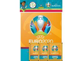 Panini UEFA EURO 2020 TOURNAMENT EDITION Hard Cover Stickeralbum