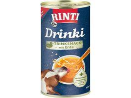 RINTI Hundesnack Drinki Trinksnack mit Ente