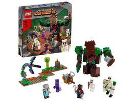 LEGO Minecraft 21176 Die Dschungel Ungeheuer Set mit Actionfiguren